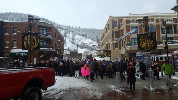 Women's March on Main, Park City, UT